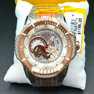 FIRM PRICE-INVICTA AUTOMATIC BOLT CABLE WATCH